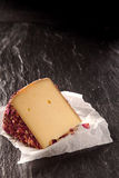 Aromatic rose cheese Stock Photography