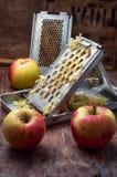 Aromatic salad fresh apple Royalty Free Stock Photo