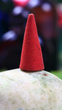 Aromatic scented mud cone royalty free stock image