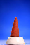 Aromatic scented  mud cone Royalty Free Stock Photos