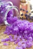 Aromatic sea salt Stock Photography