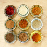 Aromatic seasoning for cooking in the kitchen Royalty Free Stock Images
