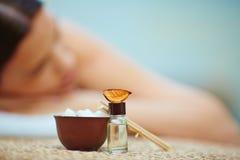 Aromatic skincare Stock Photography