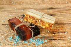 Aromatic soap Royalty Free Stock Images