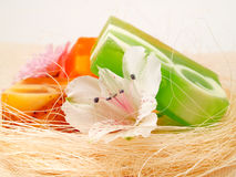 Aromatic soaps Stock Images