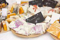 Aromatic soaps Stock Photography