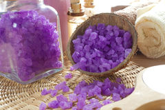 Aromatic spa σύνολο Στοκ Εικόνες