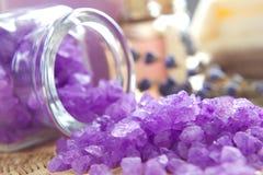 Aromatic spa σύνολο Στοκ Φωτογραφία