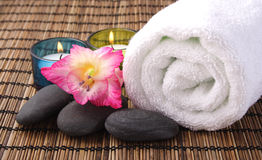 Aromatic Spa Objects Stock Image