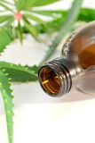 Aromatic spa oil Stock Photo