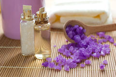 Aromatic spa set Stock Images