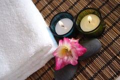 Aromatic Spa Voorwerpen Stock Fotografie