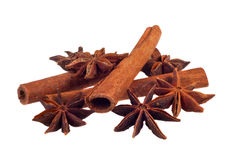 Aromatic spices Royalty Free Stock Photo