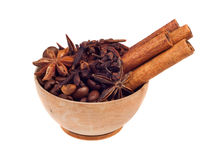 Aromatic spices Stock Photography