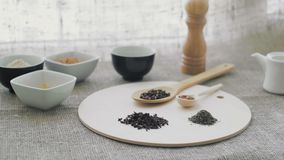Aromatic spices, Dried cloves and herbs. HD stock video
