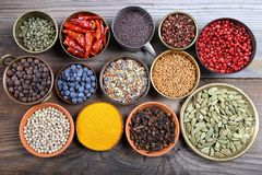 Aromatic spices. Royalty Free Stock Image