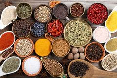 Aromatic spices. Stock Photography