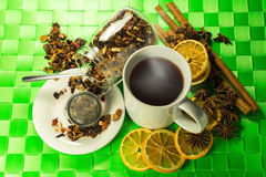 Aromatic tea Royalty Free Stock Photography