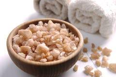 Aromatisch zout van jeneverbes Royalty-vrije Stock Fotografie