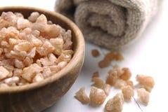 Aromatisch zout van jeneverbes Royalty-vrije Stock Foto's