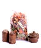Aromatische bemerkte bloemen Stock Fotografie