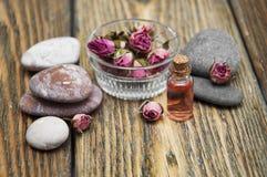 Aromatische essentie stock foto