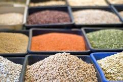 Aromatische Gewürze im Morgenmarkt Israel Stockfoto