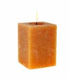 Aromatische kaars royalty-vrije stock afbeeldingen