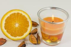 Aromatische kaars stock fotografie