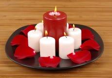 Aromatische Kaarsen Royalty-vrije Stock Foto