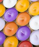 Aromatische kaarsen Stock Fotografie