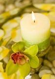 Aromatische kaarsen Royalty-vrije Stock Foto's
