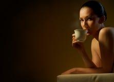 Aromatische koffie royalty-vrije stock foto