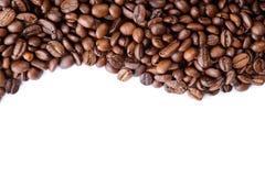 Aromatische koffiebonen Stock Afbeeldingen