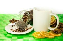 Aromatische thee Stock Fotografie