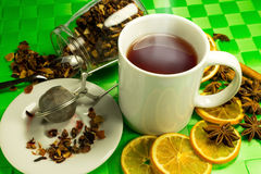 Aromatische thee Stock Afbeeldingen