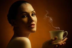 Aromatischer Kaffee stockfotografie