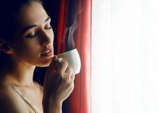 Aromatischer Kaffee Stockbild