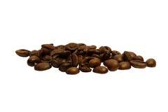 Aromatischer schwarzer Kaffee des Kornes Stockfoto