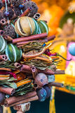 Aromatisk och mångfärgad garneringställning Royaltyfria Bilder