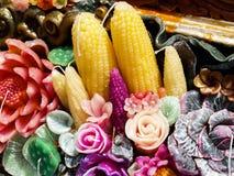 Aromatisk stearinljus Royaltyfri Fotografi