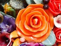Aromatisk stearinljus Royaltyfri Bild