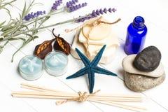 Aromatiska handgjorda tvålar Royaltyfria Bilder