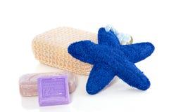 Aromatiska tvål- och badprodukter Royaltyfria Foton
