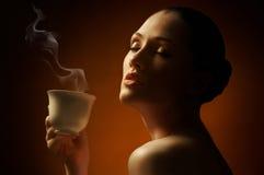 aromatiskt kaffe Arkivfoton