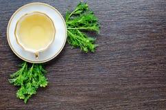 Aromatiskt organiskt naturligt växt- matricariakamomillte Royaltyfri Bild