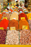 Aromatizza il bazar, Costantinopoli, Turchia Fotografie Stock