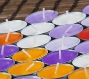 aromatyczne świeczki Zdjęcia Royalty Free