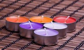 aromatyczne świeczki Fotografia Stock