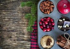aromatyczne wypiekowe bożych narodzeń ciastek miodownika pikantność obrazy stock